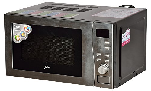 Godrej 20 L Convection Microwave Oven (GMX20CA6PLZ, Clear)
