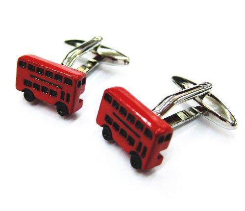 Tailor B boutons de manchette en forme de Bus à impériale de Londres Bus manchette