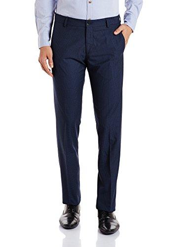 Excalibur Men's Formal Trousers (8907542578108_400016499643_38_Navy)