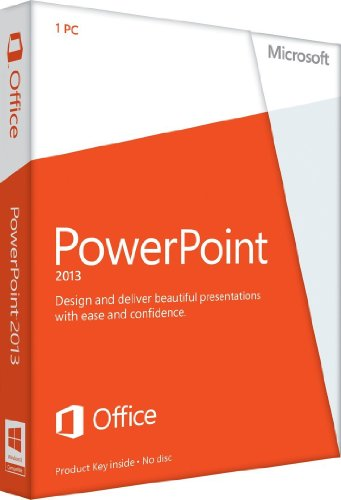 Microsoft PowerPoint 2013 - 1PC (Product Key Card ohne Datenträger)