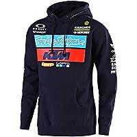 Troy Lee Designs Felpa con Cappuccio Bambino KTM Team Blu Scuro (L Bambino 3432ca80be3