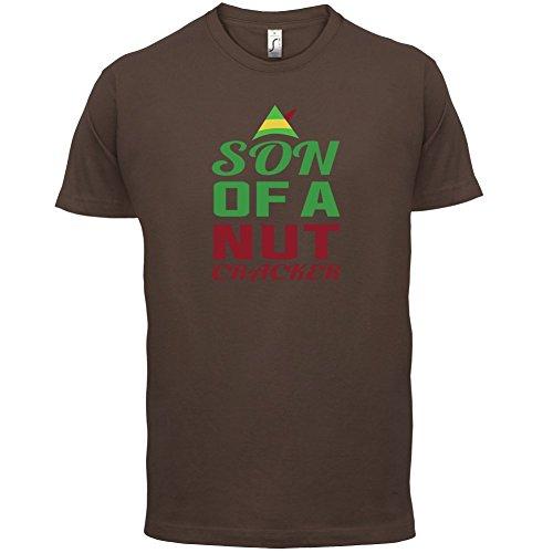 Sohn eines Nussknackers - Herren T-Shirt - 13 Farben Schokobraun