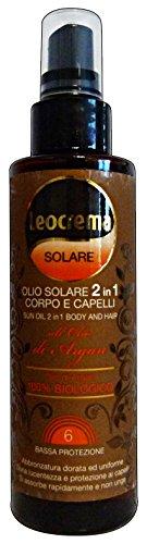 Leocrema Olio Solare Argan 2In1 Ml.150