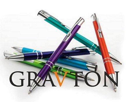 Kugelschreiber mit Gravur, COSMO, Lasergravur nach Wunsch, individuelle Werbeartikel 50 Stück