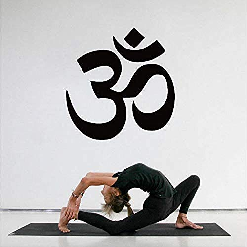 Pegatinas pared Yoga Logo Tatuajes pared Estatua Buda