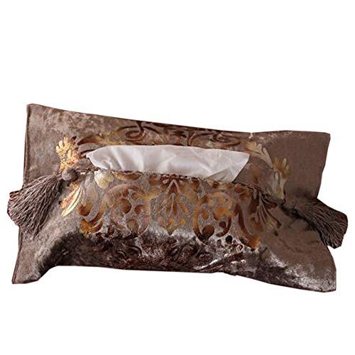 Jcnfa Set De Table Serviette En Papier Motif Bronzant Patins D'isolation Tapis Occidental, Style Européen (Couleur : A1, taille : Paper towel set(one piece))