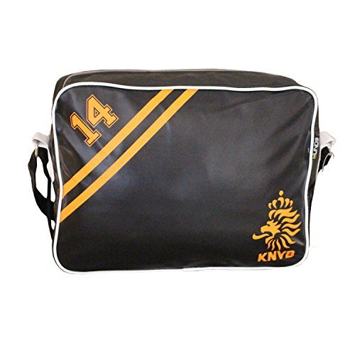 Retro Style Holland Netherlands Dutch Football Sports Bag Unisex School Bag Gym Bag Flight Shoulder Cross Messenger Bag All Weather Classic Airline Flight Bag
