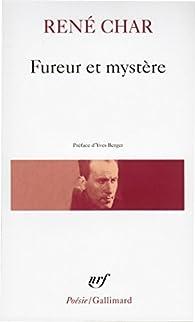 Fureur et Mystère par René Char