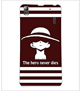 PrintDhaba Quote D-5853 Back Case Cover for LENOVO A7000 PLUS (Multi-Coloured)
