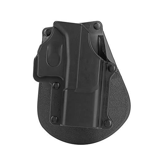 Alomejor Pistolenhalfter Tactical Airsoft Pistole Rechtshänder Paddelgurt für Glock 17,19,22,23,31,32,34,35 FW19-QT062 (Glock Paintball-pistolen)