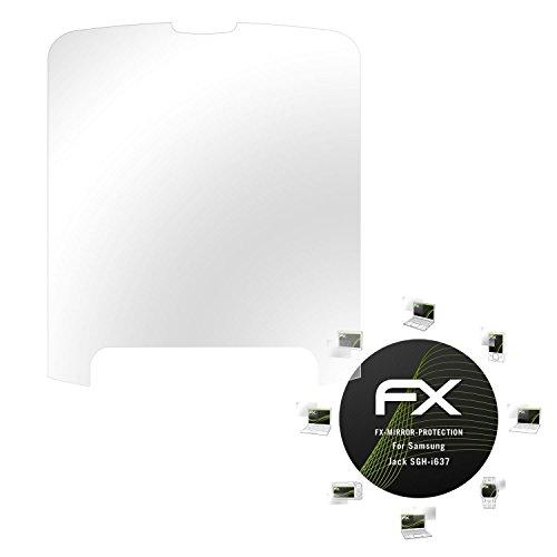 atFolix Displayfolie für Samsung Jack SGH-i637 Spiegelfolie, Spiegeleffekt FX Schutzfolie -