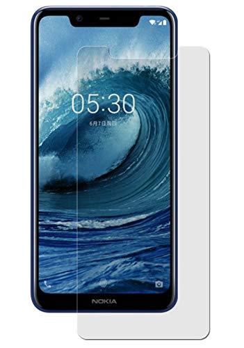 Maoni Bildschirmschutzfolie für Nokia 5.1 Plus (2018) - (3 Stück) kristallklare Anti-Shock Bildschirmschutzfolie - Crystal Clear Schutz Folie - Bildschirmfolie