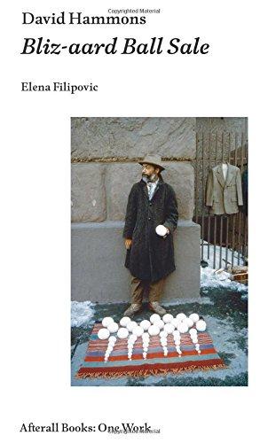 David Hammons (Afterall Books / One Work) por Elena Filipovic