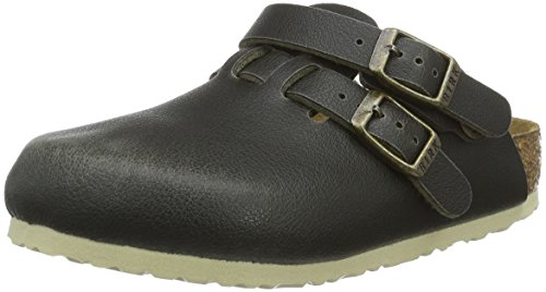 Birkenstock Kids Unisex-Kinder Kay Birko-Flor Clogs, Grün (Fashion Pull Up Green), 26 EU