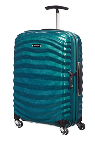 Samsonite – Lite-Shock Spinner 55 cm, Azul (PETROL BLUE)