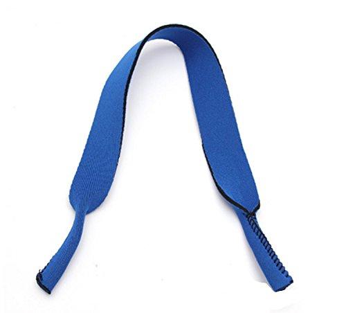 buyhere extérieur Lunettes de sport bande Sangle Chaîne, bleu