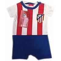 FUTBOL Body Bebe Atletico de Madrid equipación - 6Meses