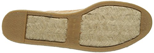 Nine West donna Quotie pelle ballerine chiuse Natural/Light Gold