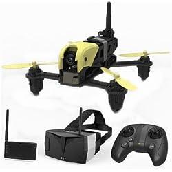 HUBSAN H122D dron con cámara Cuadricóptero Negro, Verde 4 rotores 710 mAh - Drones con cámara (4 rotores, 100 m, 710 mAh, Negro, Verde)