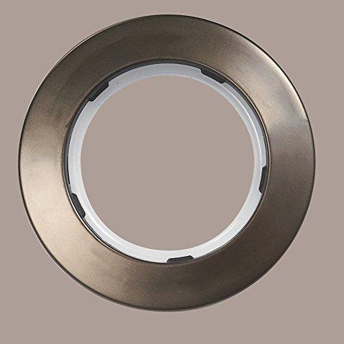 Anelli A Pressione Per Tende.Anelli A Pressione Per Tende 10 Pezzi Diametro Interno 50mm Colore Bronzo Champagne