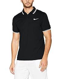 b4204fc295cc9 Nike M Nkct Dry Polo Solid Pq Camiseta de Manga Corta de Tenis