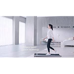 41d7gfNinWL. SS300  - Slim Tread - Ultra Thin Smart Treadmill Running Machine Portable