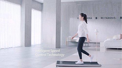 41d7gfNinWL - Slim Tread Ultra Thin Smart Treadmill Running Machine Portable