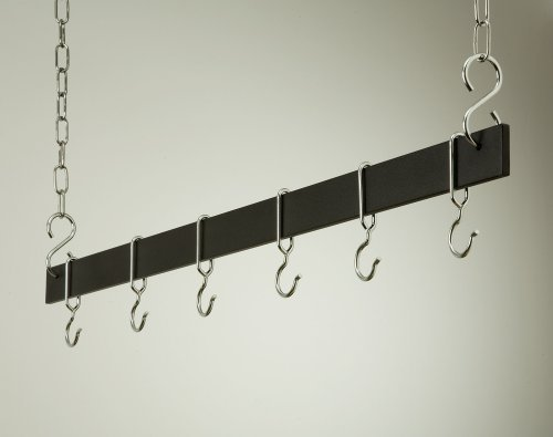 42 Hanging Bar: Black/Chrome by Rogar - Rogar Bar
