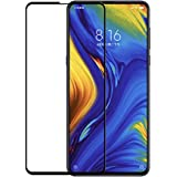 Divud Ecom Xiaomi Mi Mix 3 Tempered Glass Full Cover Edge to Edge Black Anti-Scratch Screen Protector Full Glue 6D