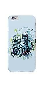Camera 02 Illustration iPhone 6S Plus Soft Case