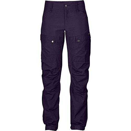 Fjällräven Damen Keb Trousers W Short Lange Hosen Alpine Purple
