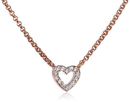 Esprit-Essential-Damen-Kette-mit-Anhnger-ES-PICO-LOVE-ROSE-925-Silber-rhodiniert-Zirkonia-transparent-42-cm-ESNL93375C420