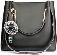 Mammon Women's Handbag (LR-bib-blk_Bl
