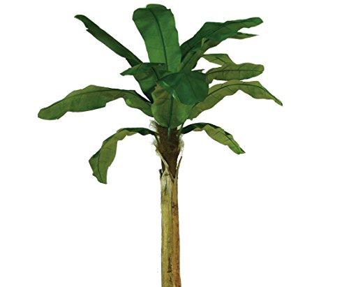 Bananenbaum, Deko Pflanze mit 9 Blättern, Höhe 270cm – künstlicher Bananen Baum Kunstbäume Dekobäume