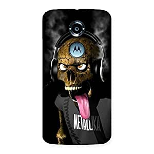 Delighted Metal Tounge Back Case Cover for Moto X 2nd Gen