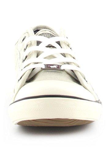 Mustang - Schnürer, Zapato De Mujer Blanca (blanc - Blanc)