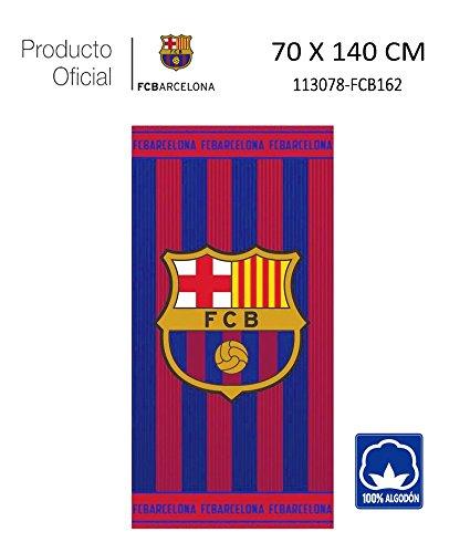 Producto Oficial FC Barcelona Toalla DE Playa Y Baño FCBARCELONA Barça  70X140CM (113078-FCB162 a6c56df4ebd