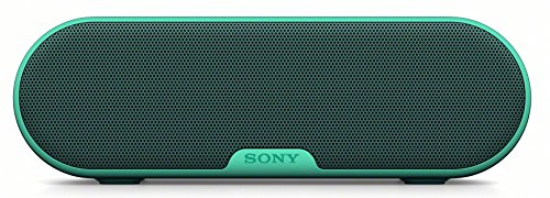 Sony SRS-XB2 Altoparlante Wireless Portatile, Stereo, Extra Bass, Bluetooth 3.0, NFC, Resistente all'Acqua, Verde