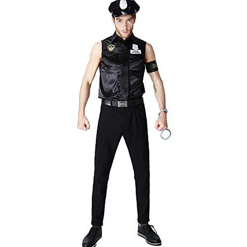 Halloween Kostüme Unisex Erwachsene Männer Cosplay Polizei