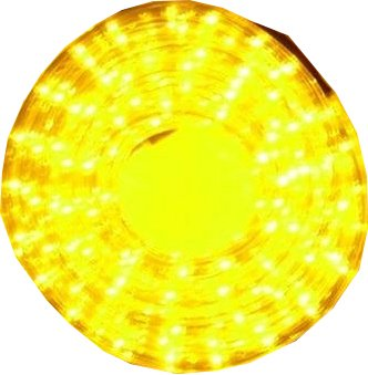 5 Meter Lichterkette mit 165 Led in Gelb