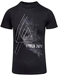 Linkin Park Patches Camiseta Gris/Melé