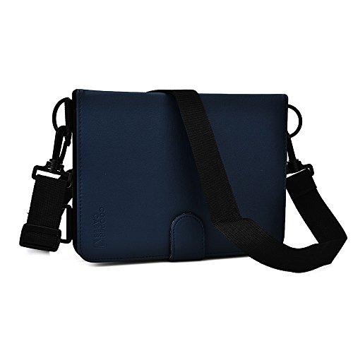 Toshiba Encore 8, Encore 2 8 Pro Hülle, Cooper Magic Carry Tragbare Reisetasche Tabletschutz Folio mit Griff, Schultergurt, Stifthalter und integrierter Standfunktion (Blau)