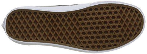 Vans Brigata - Scarpe da Ginnastica Basse Unisex – Adulto Grigio (leather/plaid/asphalt/beluga)