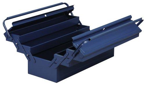 Allit 490612 Metall-Werkzeugkasten blau