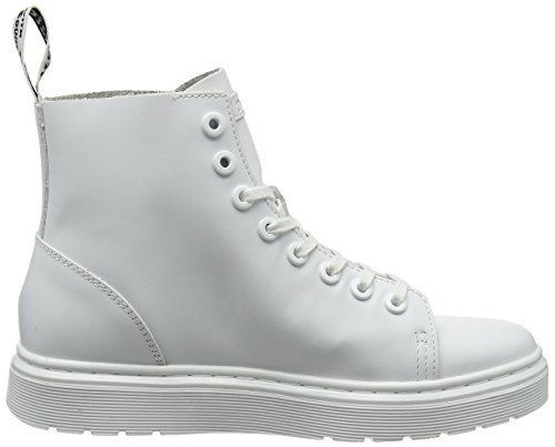 Dr. Martens Talib Brando Black, Chaussures bateau homme Blanc (White Venice)