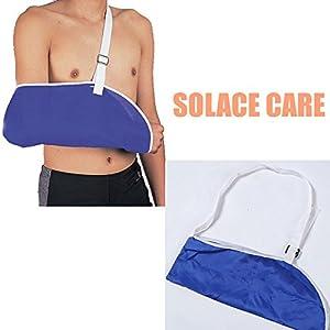 Solace Care Breathable Medical Arm Sling Bandage Support For Broken Wrist Shoulder Injury Elbow   For Men & Women   For Left & Right   Fracture Orthopedic Immobiliser