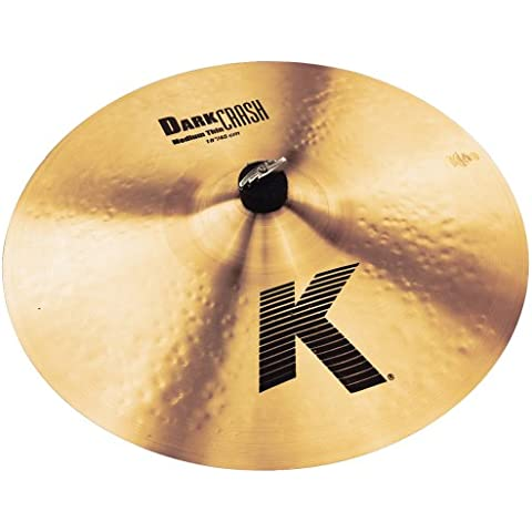Zildjian 18 pollici K Dark Crash Medium Thin