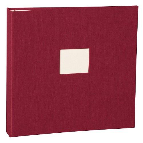 Semikolon (353346) Foto- & Gästebuch 17-Ring burgundy (dunkel-rot) - Foto-Album o. Gästebuch -...
