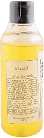 Khadi Herbal Face Wash, 210ml Bottle