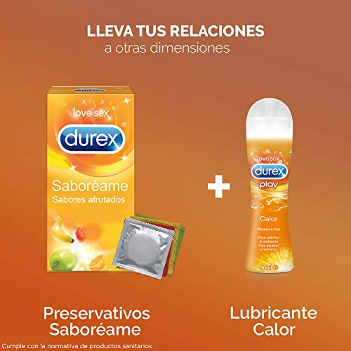 Durex Play Lubricante Efecto Calor 50 ml